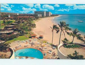 Unused Pre-1980 KAANAPALI BEACH Maui Hawaii HI M6749