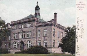 Massachusetts Brockton Court House