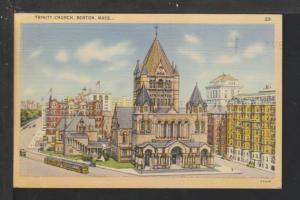 Trinity Church,Boston,MA Postcard
