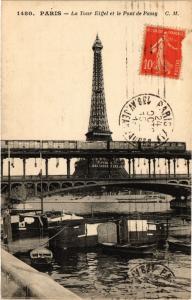 CPA PARIS 16e-La Tour Eiffel et le Pont de Passy (326203)
