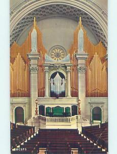 Pre-1980 CHURCH SCENE Boston Massachusetts MA AD1609