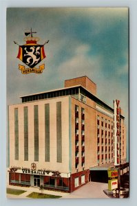 Cleveland OH, The Versaille Motor Inn, Chrome Ohio Postcard