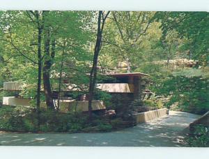 Pre-1980 FRANK LLOYD WRIGHT FALLINGWATER Near Uniontown & Pittsburgh PA W3742