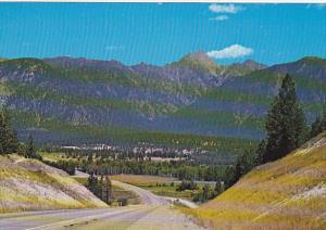 Canada Fisher Mountain Hughes Mountain Range British Columbia
