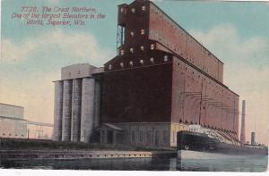 SUPERIOR , Wisconsin , 1912 ; One of the Largest Elevators in the World
