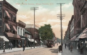 MOUNT VERNON , New York , 1900-10s ;  South Fourth Avenue, Trolley