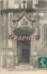 Postcard Little Old Gate Staircase Louis XII Blois