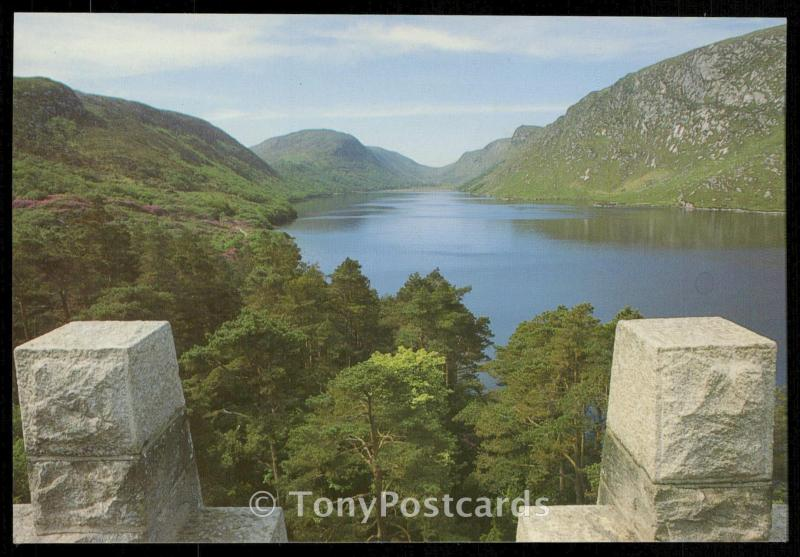 Glenveagh National Park, Co Donegal - View for the Castle