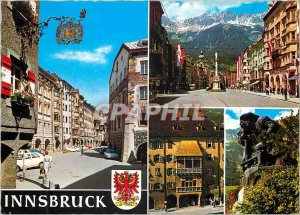Modern Postcard Altstadt Innsbruck Maria Theresien StraBe