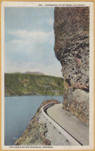 Columbia River Highway, Oregon - Approach to Mitchell's Point - 1920