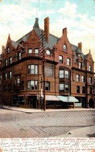 Massachusetts Malden Y M C A Building 1906