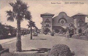 Texas San Antonio Sunset Railroad Depot Arlbertype