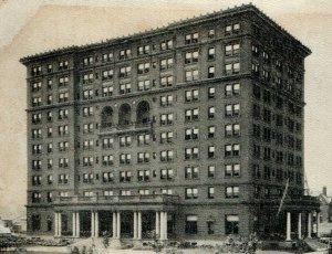 Hotel Schenley Pittsburgh Pennsylvania William Pitt Union RPPC B&W Vintage