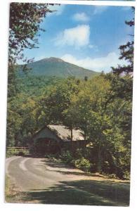 Covered Bridge Postcard New Hampshire Mt. Liberty NH