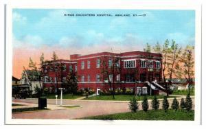 Kings Daughters Hospital, Ashland, KY Postcard