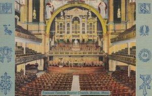 BOSTON , Mass. , 1930-40s ; Tremont Temple Baptist Church