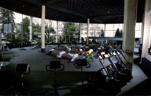 New York Kiamesha Lake The Concord Hotel Exercise Room