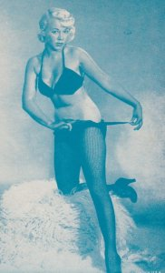 Stripper Pin-Up Girl  , 1940-50s : #3