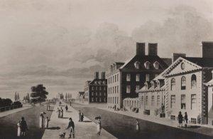 Chelsea Royal Hospital In 19th Century London Postcard