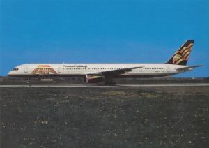 ATA Airlines, Boeing 757-33N, unused Postcard