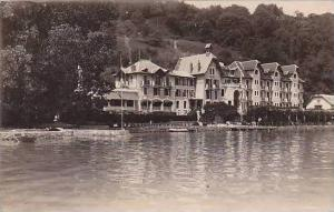 France Annecy Hotel Beau Rivage Real Photo
