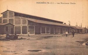 New Caledonia Noumea Les Nouveaux Docks Postcard