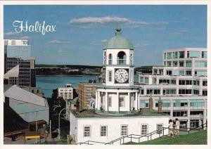 Canada Nova Scotia Old Ton Clock Halifax Nova Scotia
