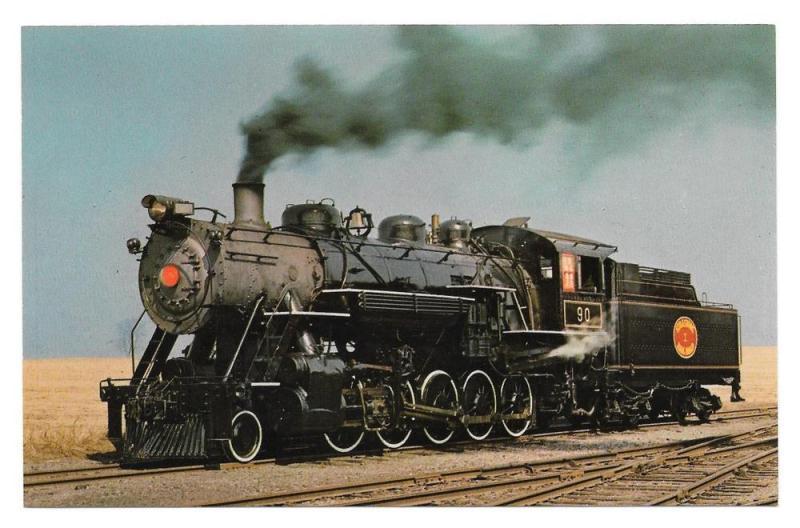 Strasburg Shortline Railroad No 90 Decapod Steam Locomotive