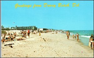 Dewey Beach, Delaware - Bathers, Ocean, Beach House Dewey Motel?
