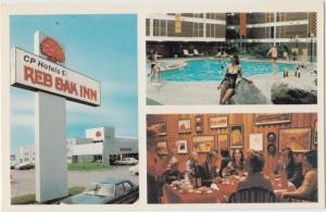 Red Oak Inn, Thunder Bay, Ontario, Canada, unused Postcard