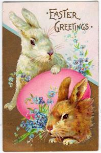 Easter - Bunnies and Egg