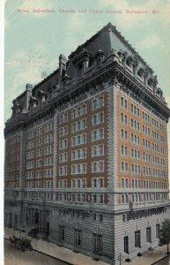 BALTIMORE , Maryland , 1914 ; Hotel Belvedere