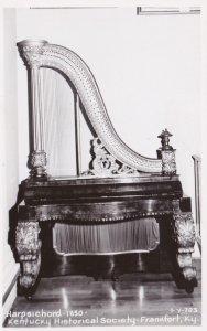 Kentucky Frankfort Harpsichord Circa 1830 Kentucky Historical Society Real Photo