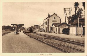 France Brou La Gare Trainstation 03.39