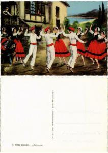 CPM Types Basques Le Fandango FOLKLORE (732835)