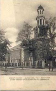 Christ Church, Alexandria, Virginia, Built 1767, 1900-1910s