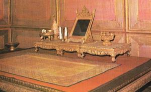 Thailand Cakrapatipiman Hall Monarch Ruler Dressing Room Chamber Photo Postcard