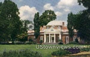 Monticello Home Thomas Jefferson
