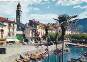 Switzerland Ascona La Piazza 1958