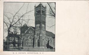 REIDSVILLE , North Carolina, 1919 ; M.E. Church