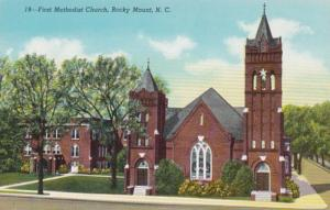 North Carolina Rocky Mount First Methodist Church Curteich