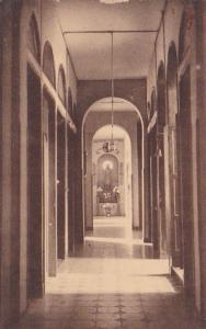Belgium Luingne Pensionnat des Soeurs de St Charles Corridor des Parloirs 1939