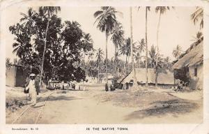 German East Africa Tanzania Dar Es Salaam In the Native Town, Rail 1933