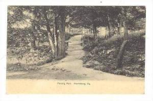 Tree Lined Trail,Paxtang Park,Harrisburg,Pennsylvania,Pre-1907