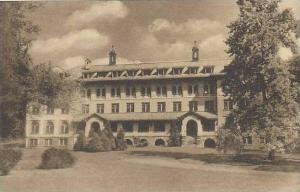 New Jersey Convent Station Santa Rita Hall College Of St Elizbeth Albertype