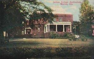Alabama Marion Judson College Auditorium