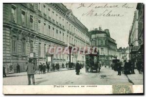 Postcard Former Bank of France Paris