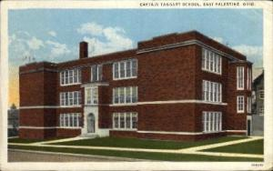 Captain Taggart School East Palestine OH Postal Used Unknown