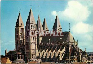 Modern Postcard Tournai The Cathedral Five Steeples (twelfth thirteenth Century