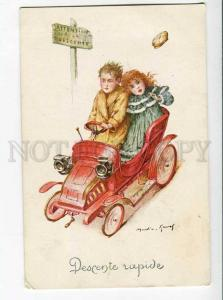 270156 MARTIN-KAVEL slipping down CAR Vintage russian Lapin PC